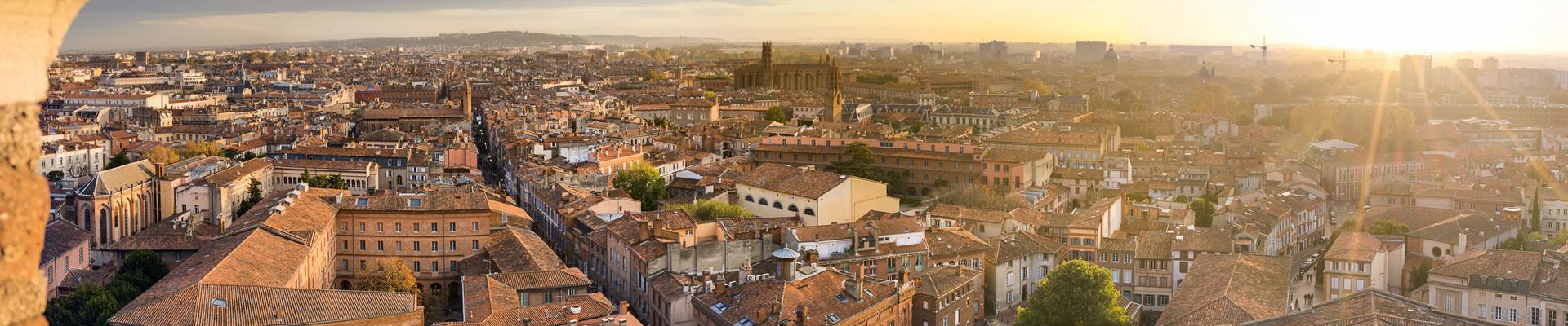 Les toits de Toulouse