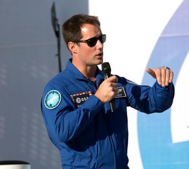 Thomas Pesquet pour les 20 ans de la Cité de l'espace
