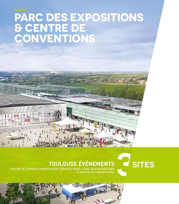 Plaquette de présentation du Parc des expos