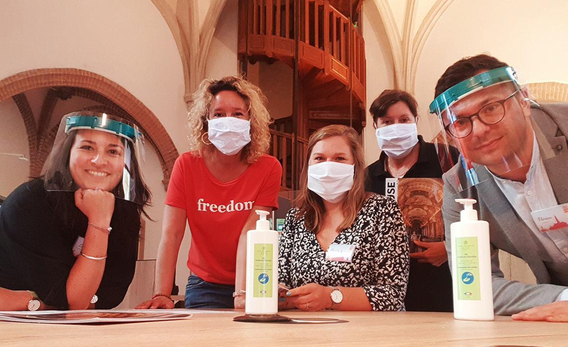 L'équipe des conseillers en séjour de l'office de tourisme de Toulouse