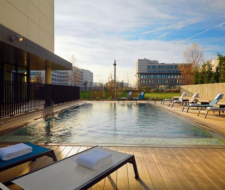 Meetings - Residence Inn Toulouse Blagnac Aéroport, piscine