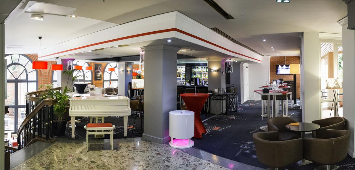 Meetings - Hôtel Crowne Plaza, bar lounge