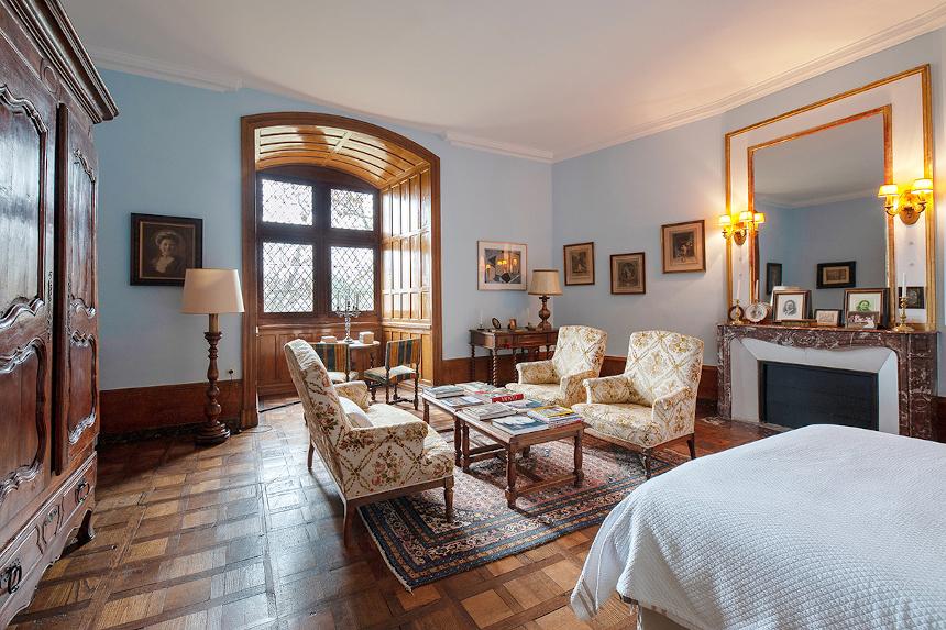 Meetings - Château St Martory - Chambre bleu