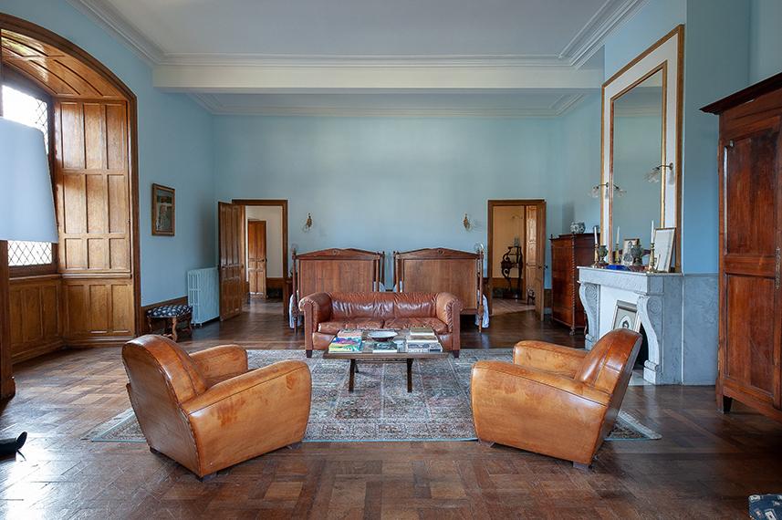 Meetings - Château St Martory - Chambre bleu bis