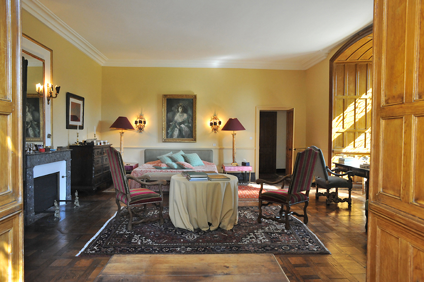 Meetings - Château St Martory - Chambre jaune