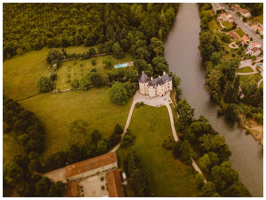 Meetings - Château St Martory - Vue du ciel