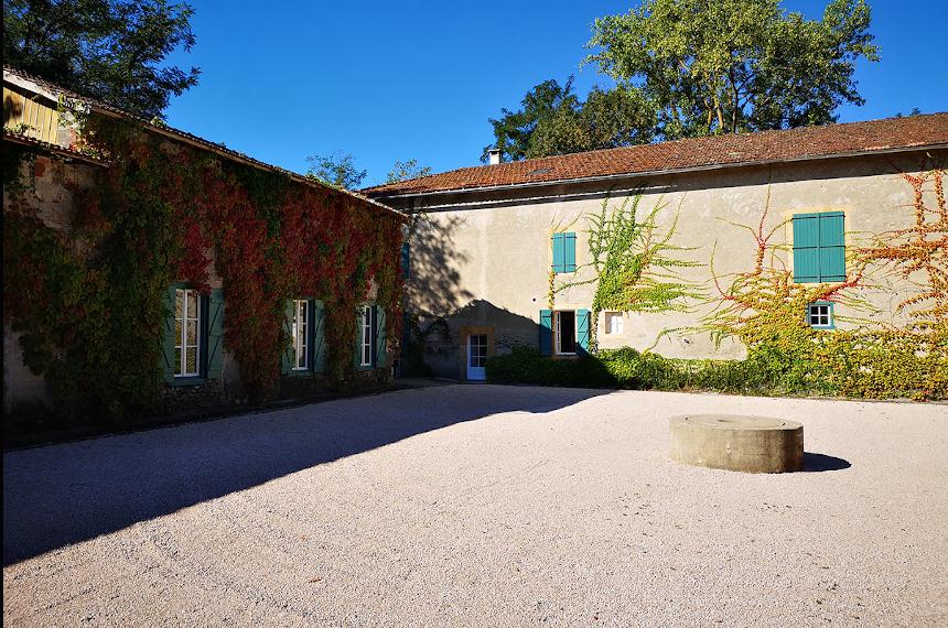 Meetings - Château St Martory - Cour intérieure