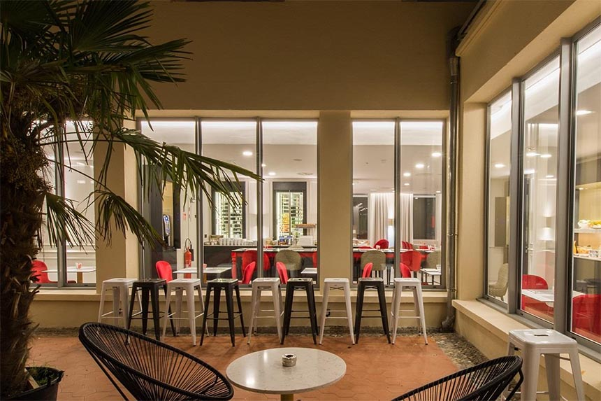 Meetings - Ibis Styles Toulouse Capitole, patio
