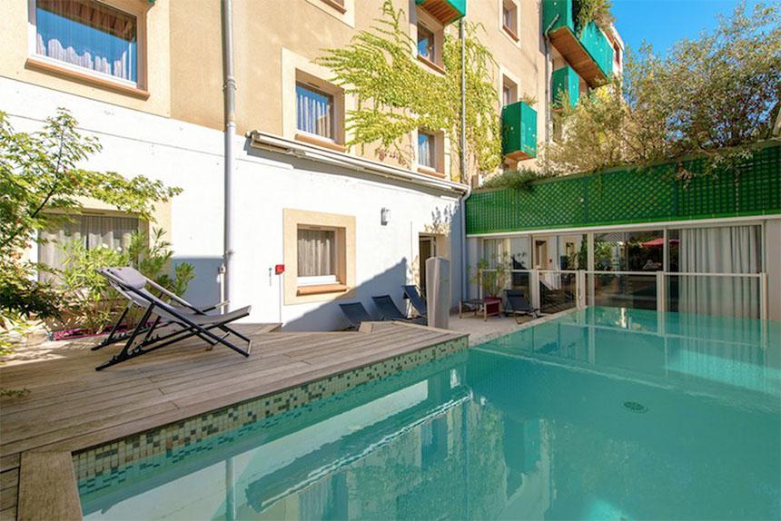 Meetings - Privilège Hôtel Mermoz, piscine
